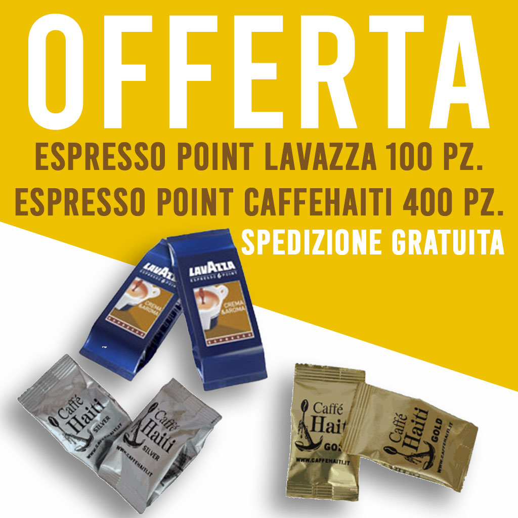 Offerta Lavazza 500 capsule Espresso Point